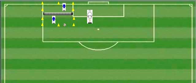 Futbol tenis entrenamientos de portero